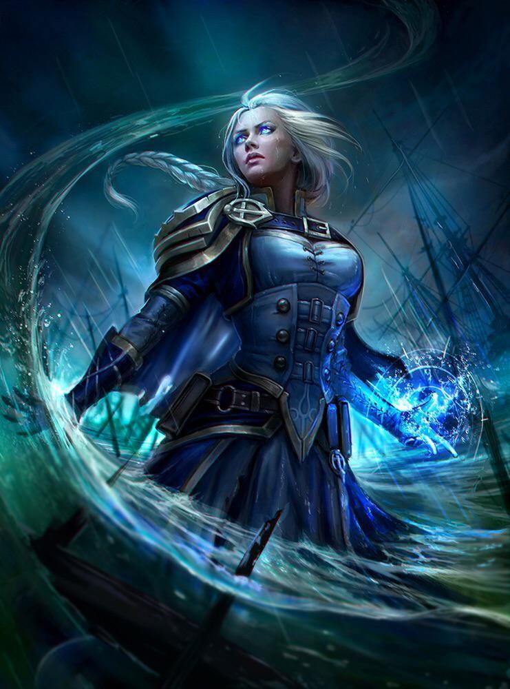 Рыцари ледяного трона арты и картинки (20)