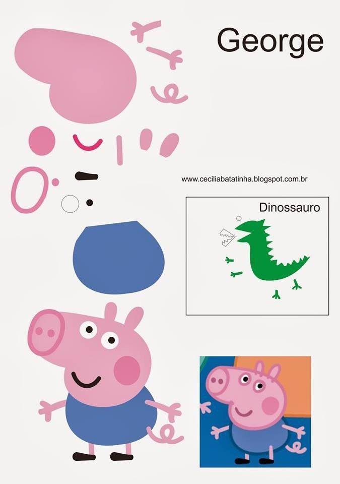 Свинка Пеппа прикольные картинки для детей и малышей (32)