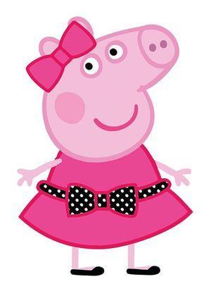 Свинка Пеппа прикольные картинки для детей и малышей (34)