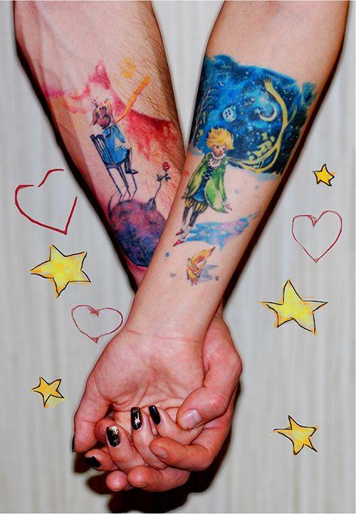 Совместные татуировки для друзей - подборка фото (15)