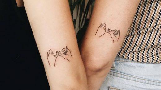Совместные татуировки для друзей   подборка фото (17)