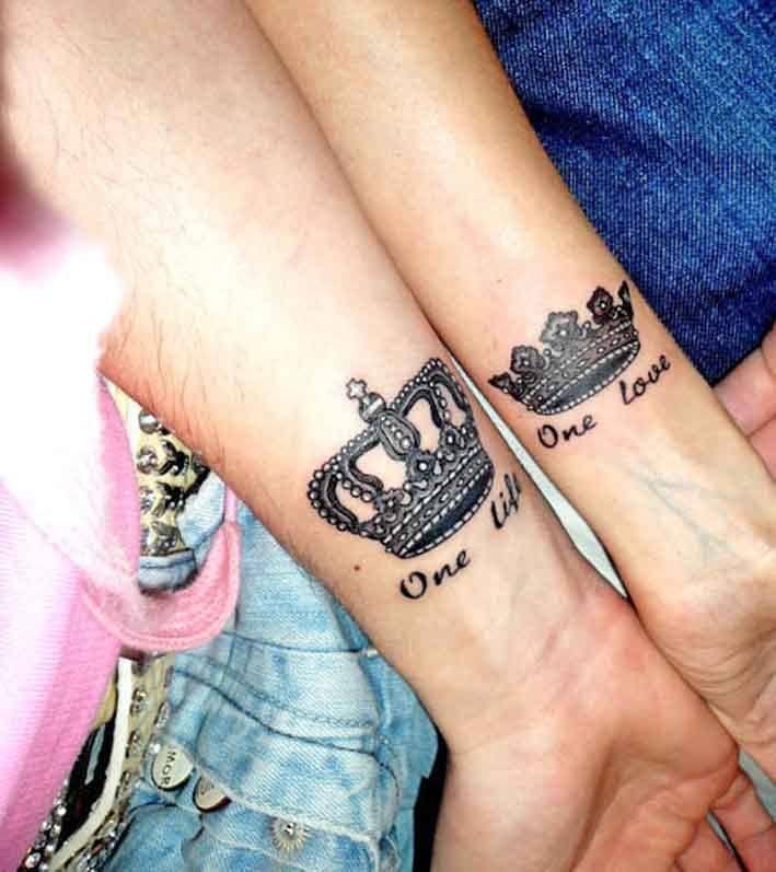 Совместные татуировки для друзей - подборка фото (20)