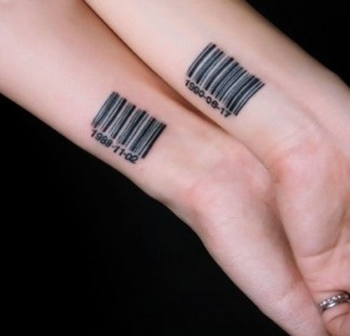 Совместные татуировки для друзей - подборка фото (25)