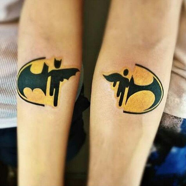 Совместные татуировки для друзей - подборка фото (27)