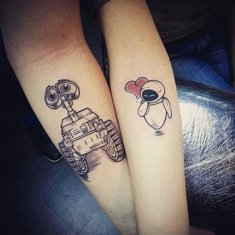 Совместные татуировки для друзей - подборка фото (4)