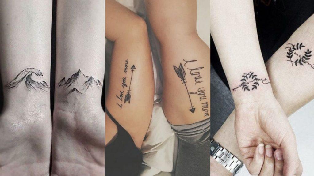 Совместные татуировки для друзей - подборка фото (5)