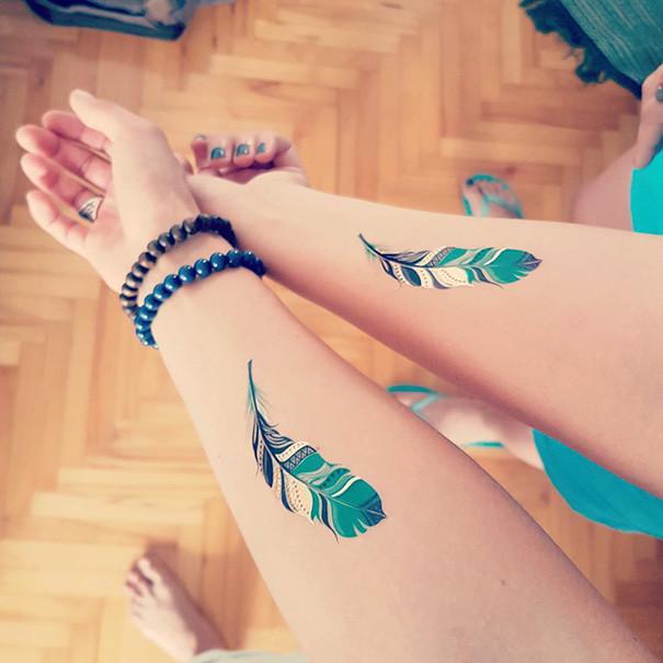 Совместные татуировки для друзей - подборка фото (8)