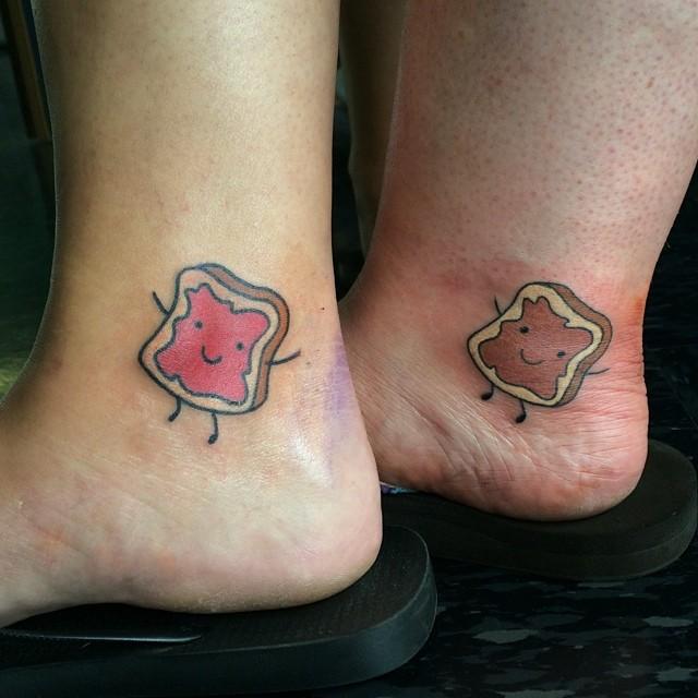 Совместные татуировки для друзей - подборка фото (9)