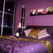 Спальня в сливовом цвете   красивые фото (2)