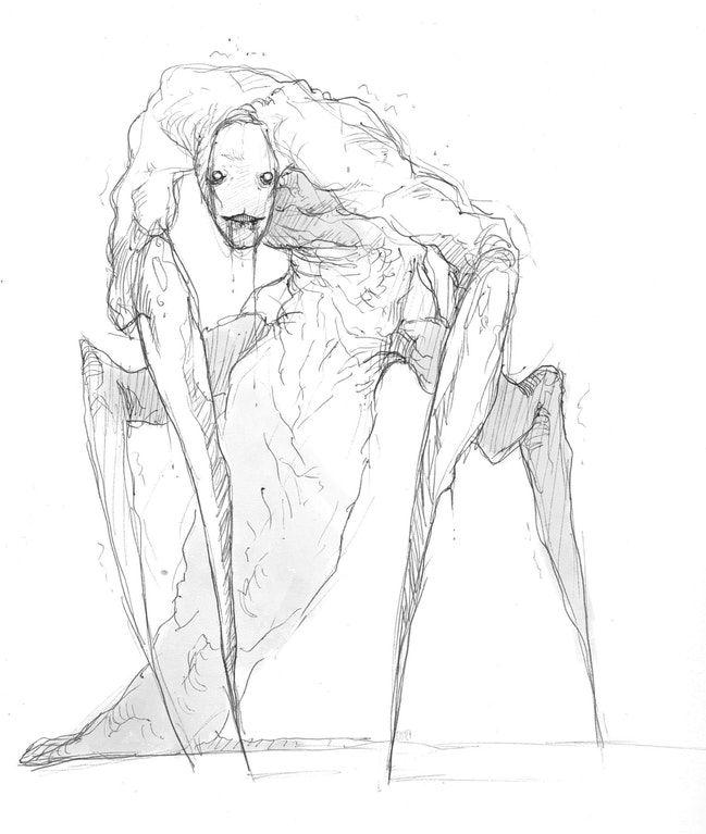 Страшные рисунки карандашом - подборка (15)
