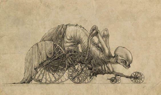 Страшные рисунки карандашом - подборка (18)