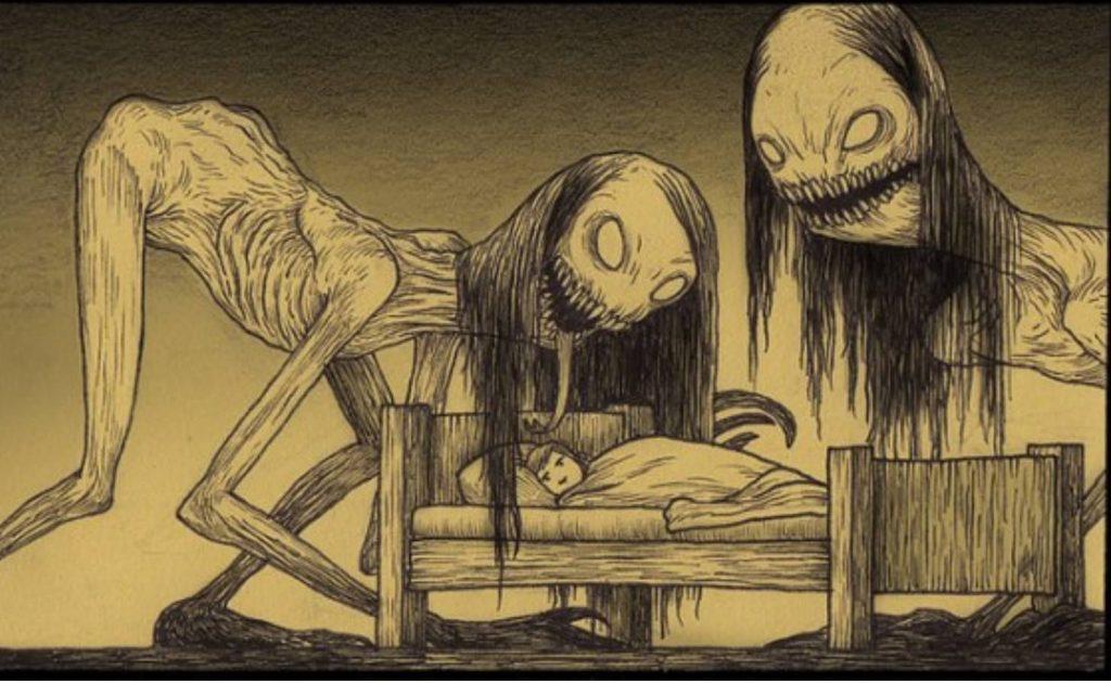 Страшные рисунки карандашом - подборка (2)