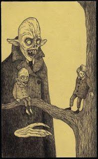 Страшные рисунки карандашом - подборка (23)