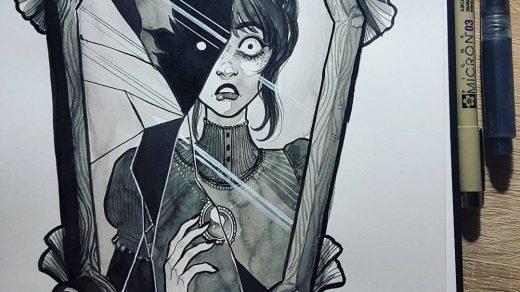 Страшные рисунки карандашом   подборка (24)