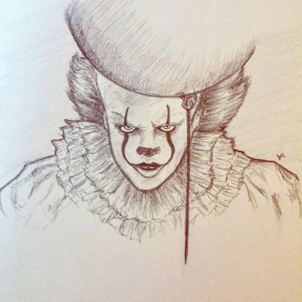 Страшные рисунки карандашом - подборка (4)