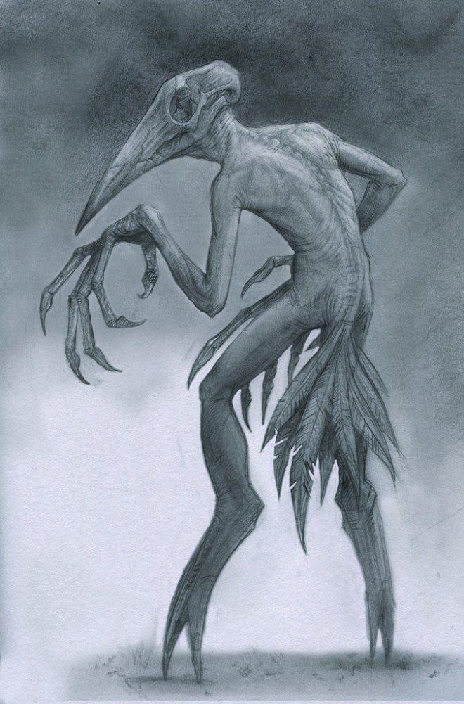 Страшные рисунки карандашом - подборка (6)