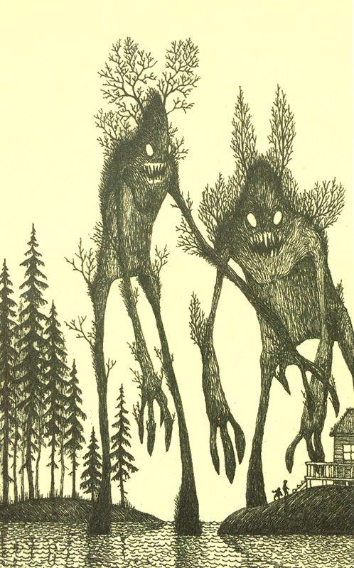 Страшные рисунки карандашом - подборка (7)