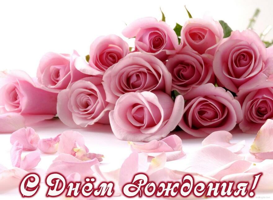 С днем рождения картинки розы красивые для девушки (20)