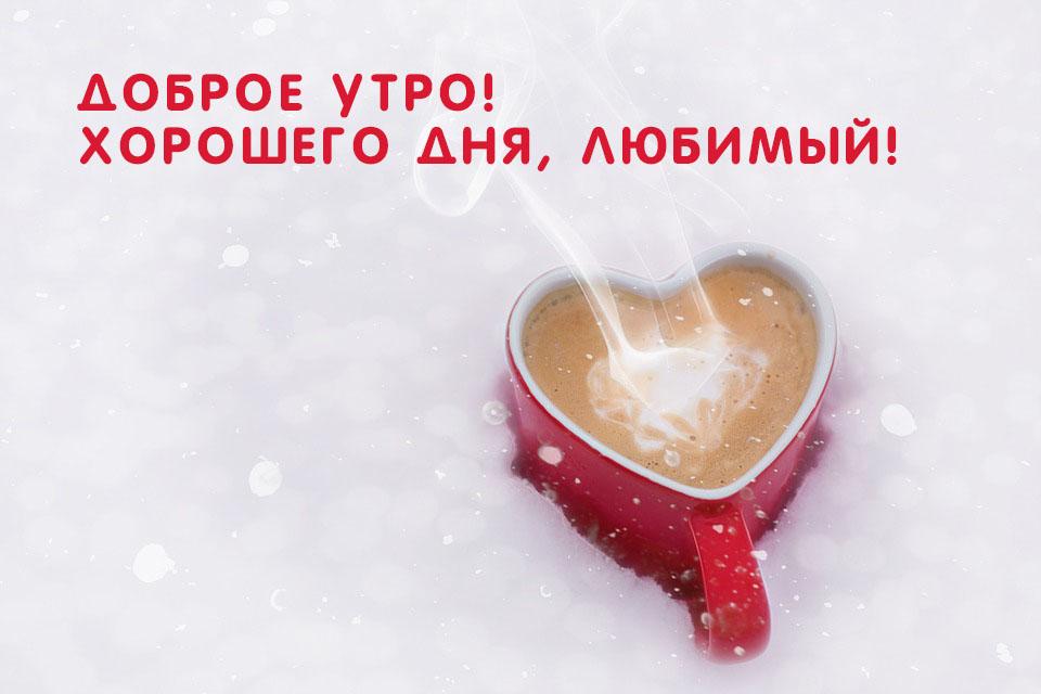 С добрым утром любимая и хорошего дня картинки (15)