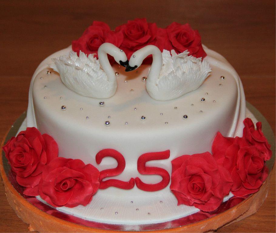 Торты на годовщину свадьбы - красивые и прикольные фото (15)