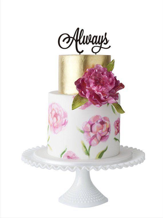 Торты на годовщину свадьбы - красивые и прикольные фото (21)