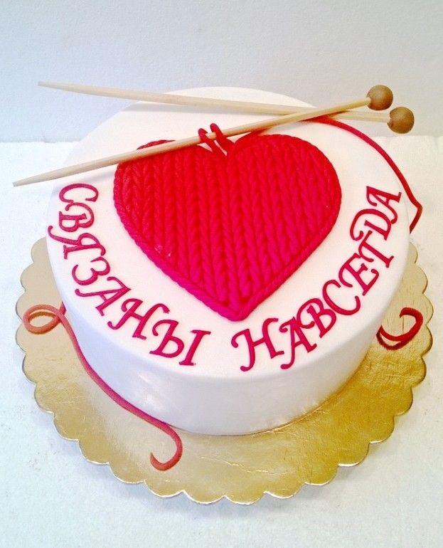 Торты на годовщину свадьбы - красивые и прикольные фото (6)