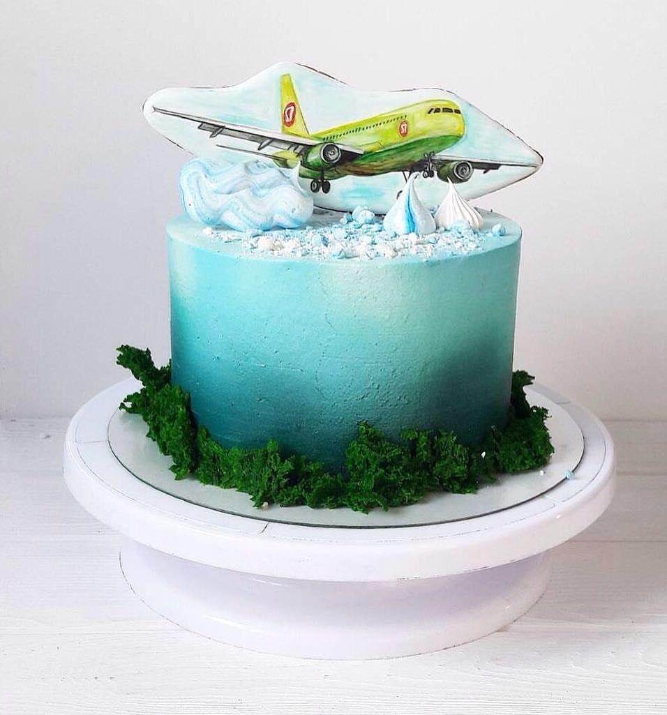 Торты самолеты фото и картинки (2)