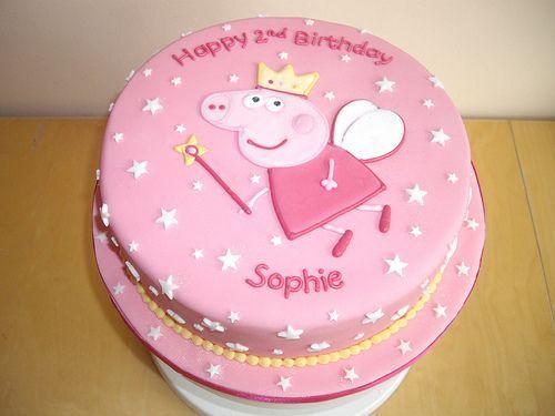 Торт на день рождения для подруги из мастики - фото (18)