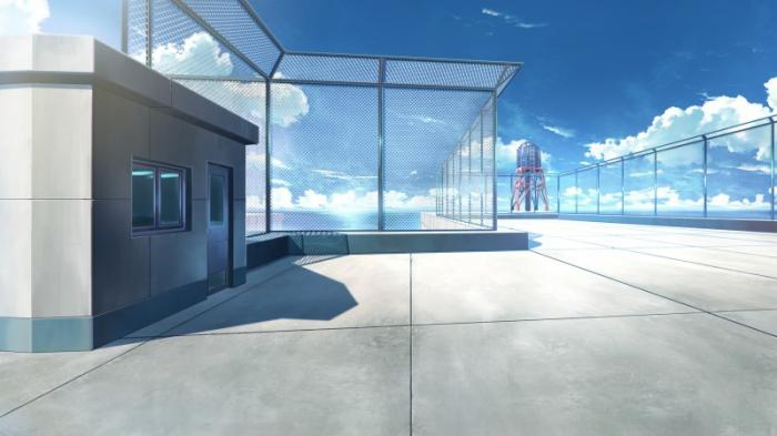 Фон аниме школьный коридор - картинки (14)