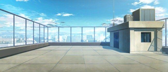Фон аниме школьный коридор - картинки (17)