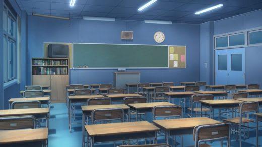 Фон аниме школьный коридор   картинки (4)
