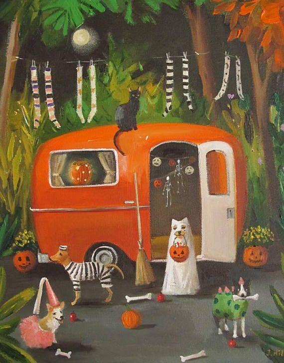Хэллоуинские рисунки и изображения (12)