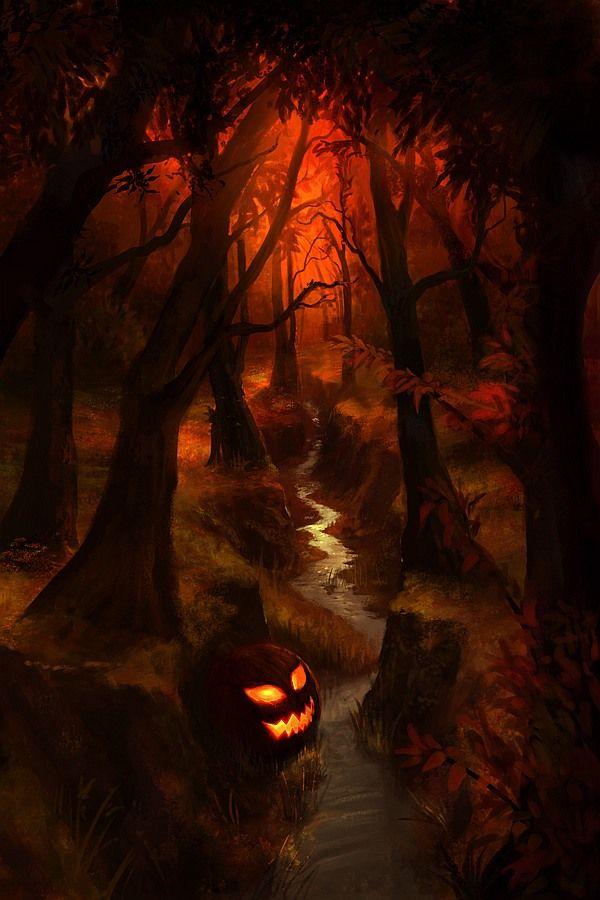 Хэллоуинские рисунки и изображения (14)