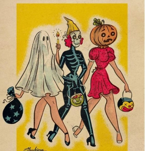 Хэллоуинские рисунки и изображения (16)