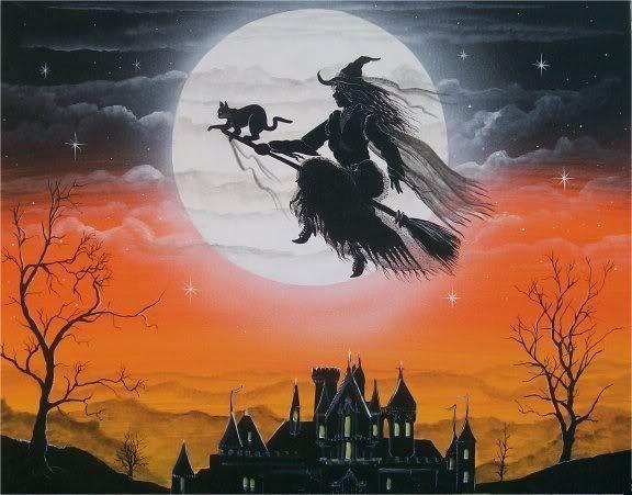 Хэллоуинские рисунки и изображения (20)