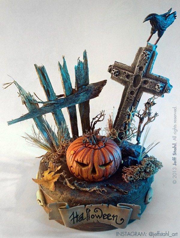 Хэллоуинские рисунки и изображения (4)