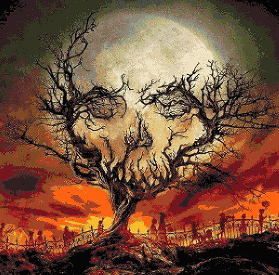 Хэллоуинские рисунки и изображения (5)