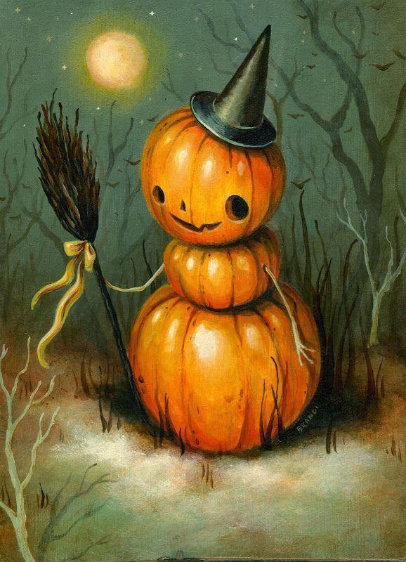 Хэллоуинские рисунки и изображения (6)