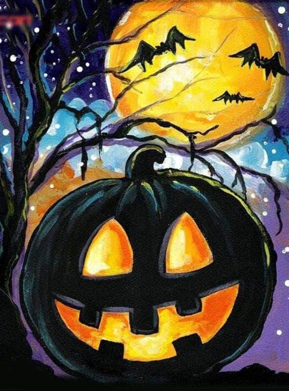 Хэллоуинские рисунки и изображения (7)