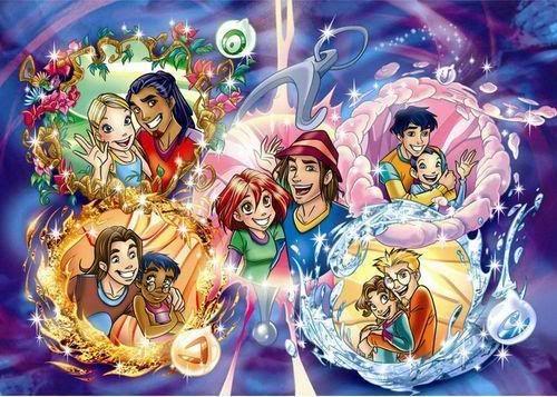 Чародейки мультсериал картинки для детей (2)