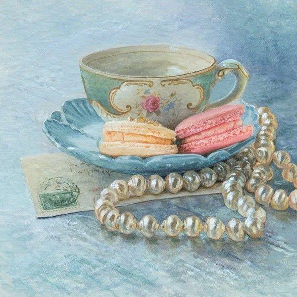 Чашка чая акварель картинки (10)