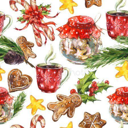 Чашка чая акварель картинки (11)