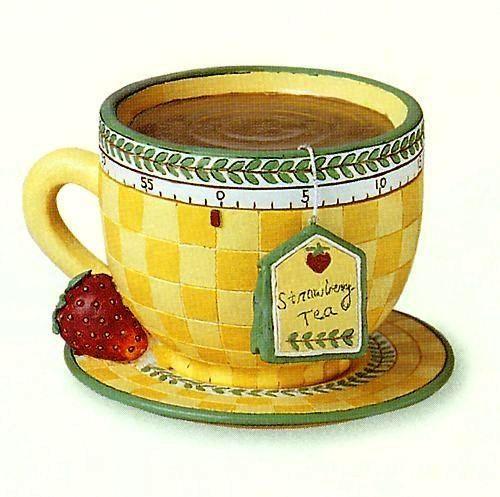 Чашка чая акварель картинки (17)