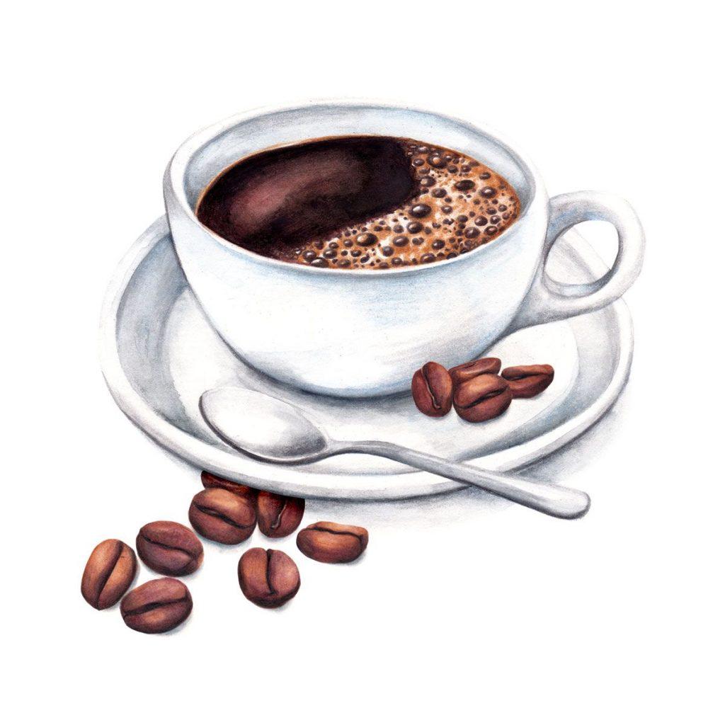 Чашка чая акварель картинки (6)