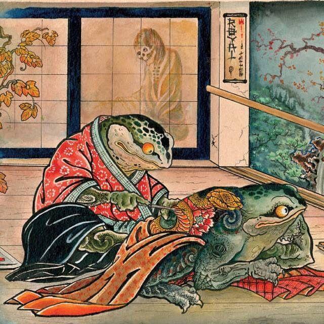 Японика тату - лучшие фотографии (8)