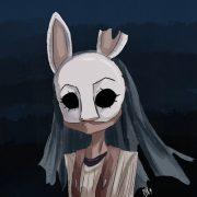 Dead by daylight охотница арты (15)