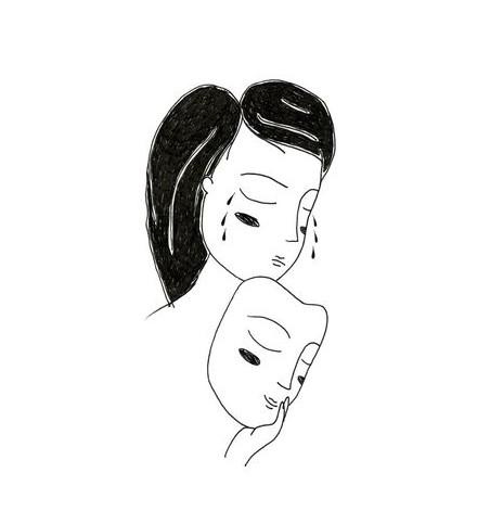 Аниме картинки для срисовки грустные (15)