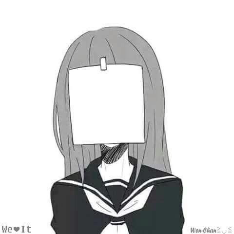 Аниме картинки для срисовки грустные (20)