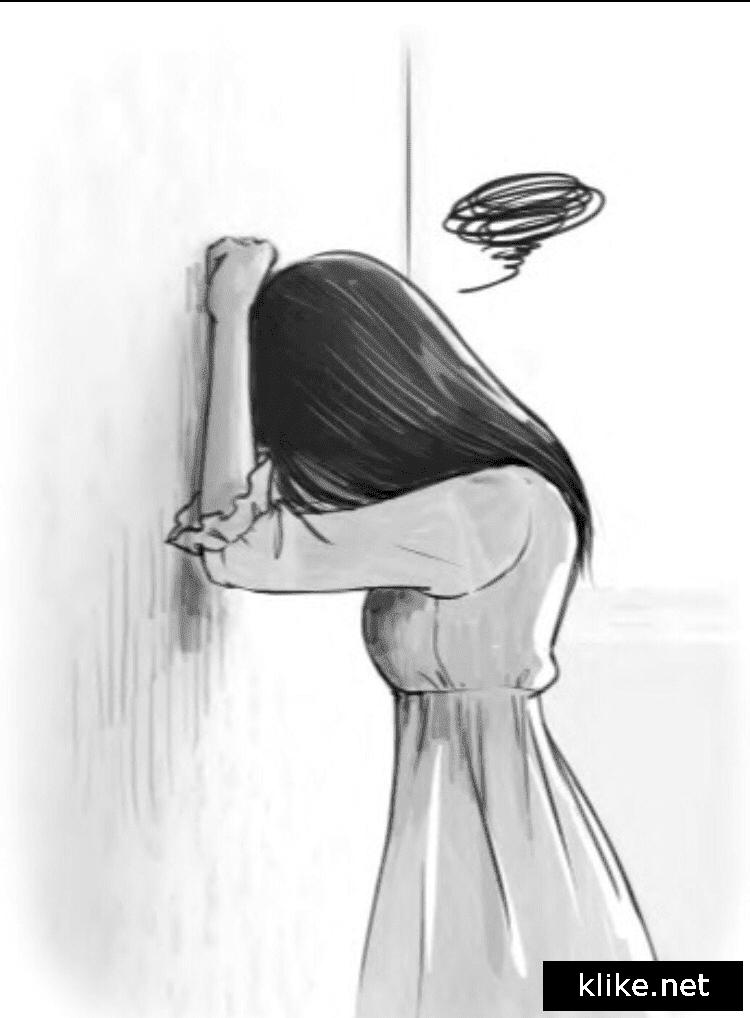Аниме картинки для срисовки грустные (24)
