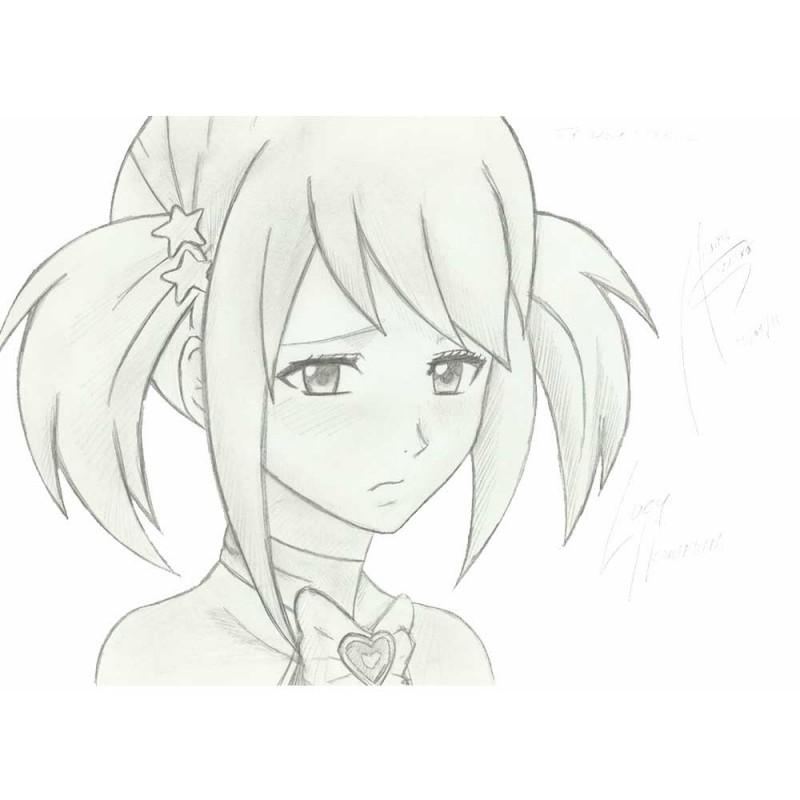 Аниме картинки для срисовки грустные (3)